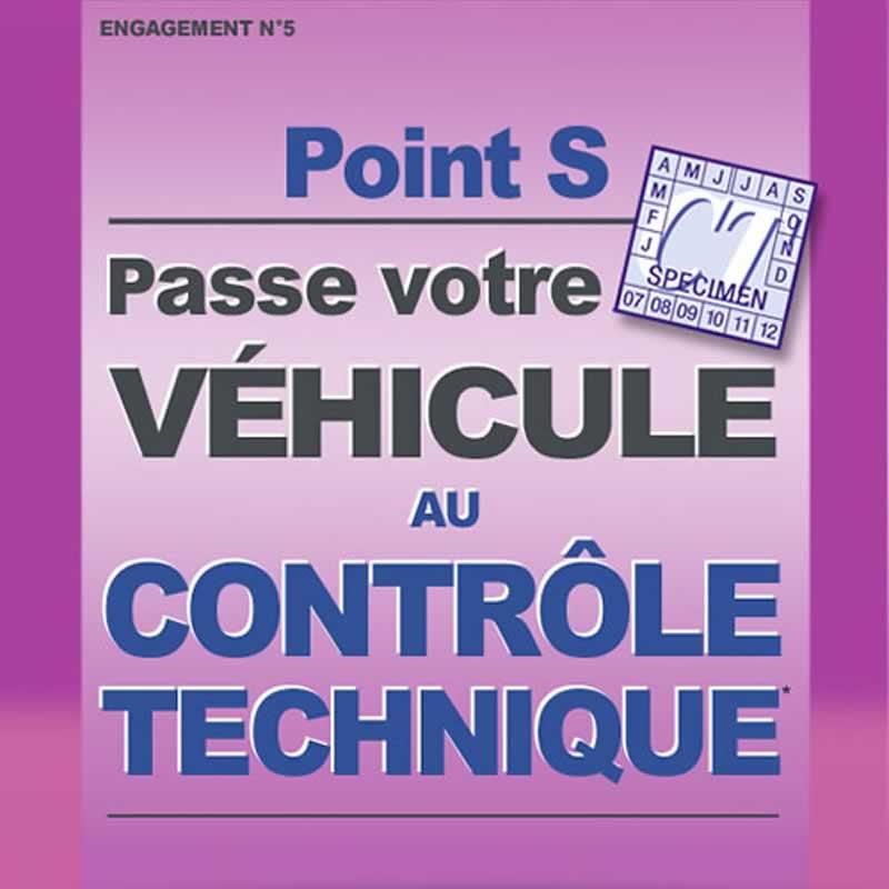 Point S passe votre véhicule au contrôle technique